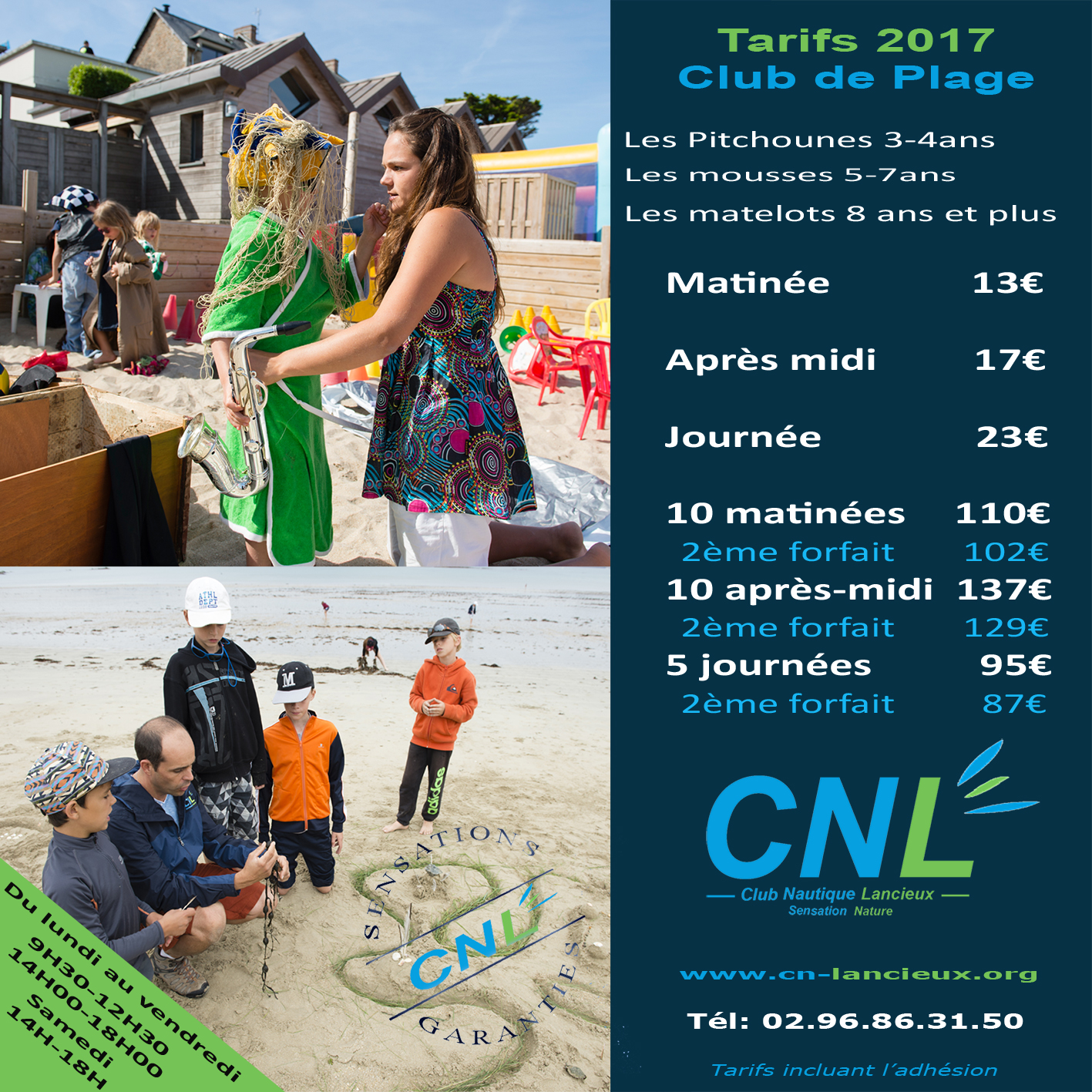 flyer club de plage 2017 copie